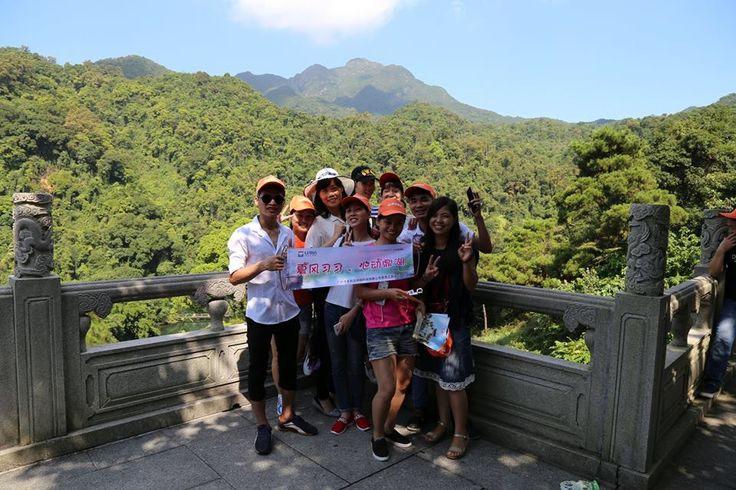 team members in China