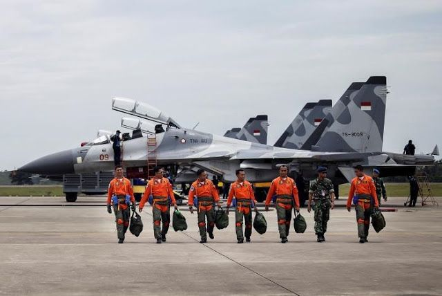 Asian Defence News Channel: Indonesia air force holds its largest military exe...