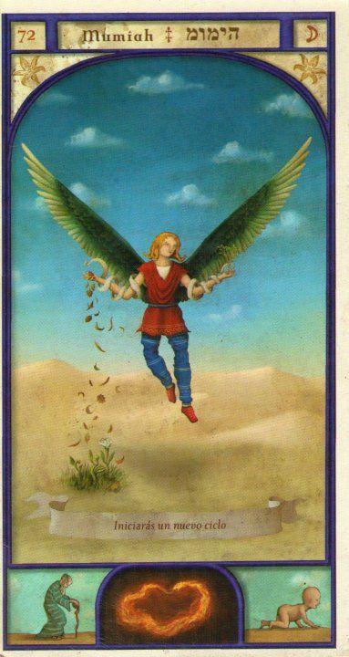 (72) MUMIAH (Kabbalistic angel) protects those born 16 - 20 March, provides peace of mind. (ángel Cabalístico) protege aquellos nacidos 16 - 20 marzo, brinda tranquilidad.