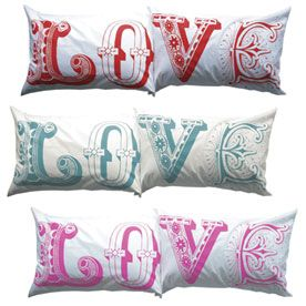 me,do: Pillows Cases, Sweet Pillowcases, Pillowcases Prints, Valentines Day, Design London, Lushdesign, Design Pillows, Gorgeous Pillows, Lush Design