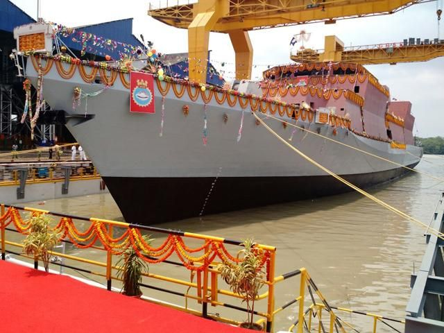 Slideshow : INS Kavaratti - INS Kavaratti: Indian Navy's new anti-submarine stealth corvette - The Economic Times