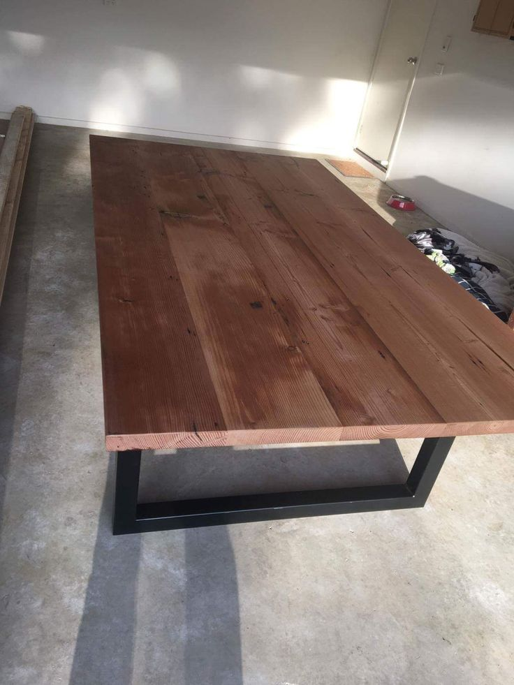 1000 ideas about industrial dining tables on pinterest for Reclaimed wood furniture oregon