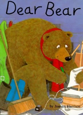 Katie is afraid of the bear that lives under the stairs in her house, until they exchange letters and she finally gets to meet him.