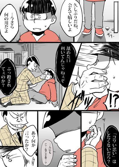 【漫画】「久しぶりだね、おそ松くん?」(東おそ)