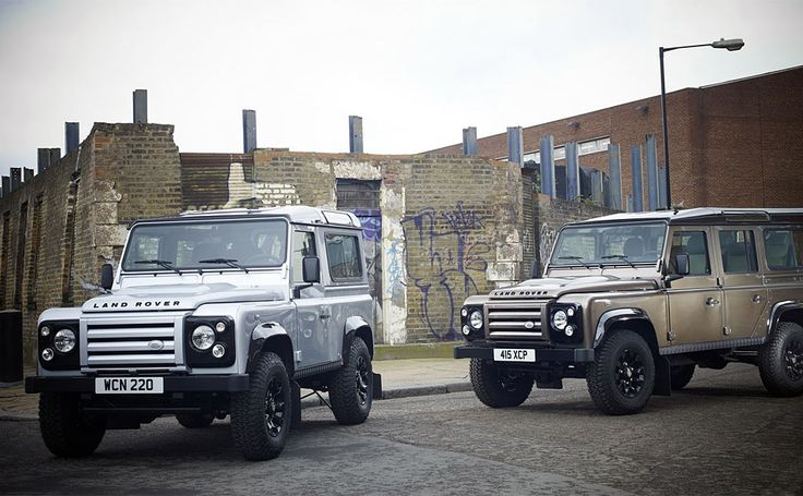"""If you long for the boxy, rugged looks of classic Rovers but want to keep the creature comforts of modern models, check out the Land Rover Defender X-Tech (£25,000; roughly $40,000). Available in three-door 90 or five-door 110 varieties, the X-Tech features a blocky front end with black on the roof, wheel arches, and headlight assemblies, a silver (90) or olive green (110) exterior, glossy black 16-inch """"Saw Tooth"""" alloy wheels, a 2.4L common-rail diesel powerplant, and all the off-road…"""