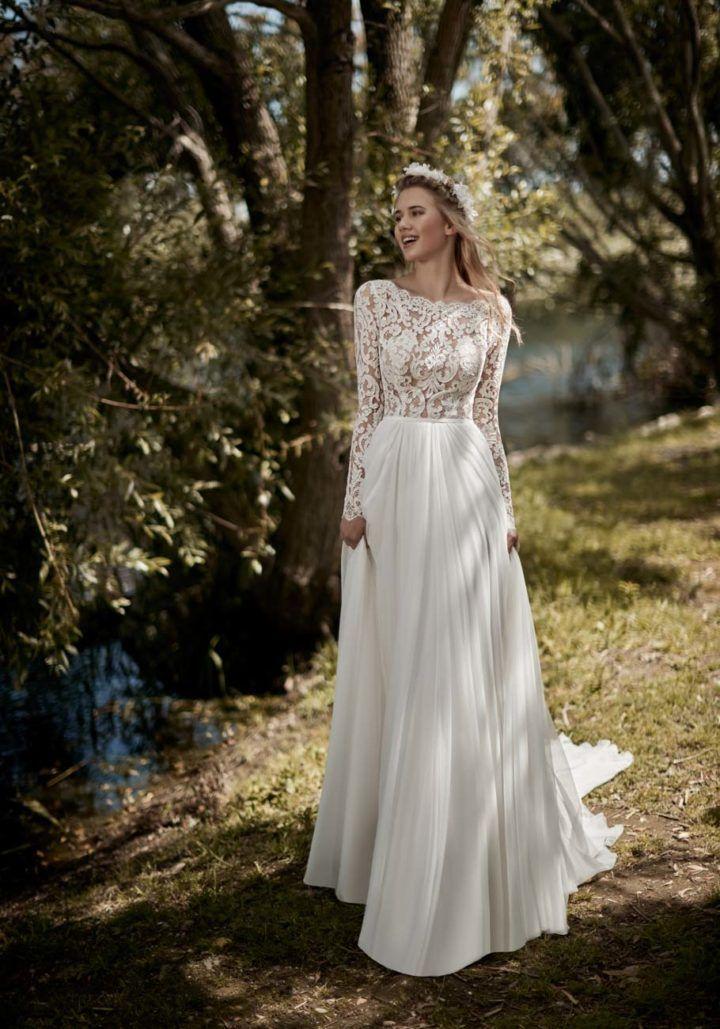 Brautkleid 2019 Victoria F. Kollektion von Maison Signore #Hochzeiten #dresses # …