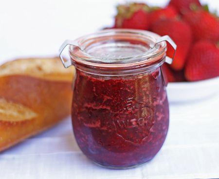 Strawberry Lemon Verbena Jam recipe