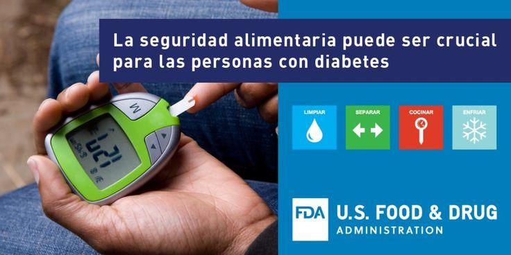 Aprenda sobre la selección y preparación segura de alimentos para las personas con diabetes con este folleto gratuito: https://go.usa.gov/xnjnh