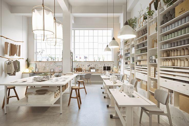 Scandinavia Meets Japan In These Minimalist Work Spaces
