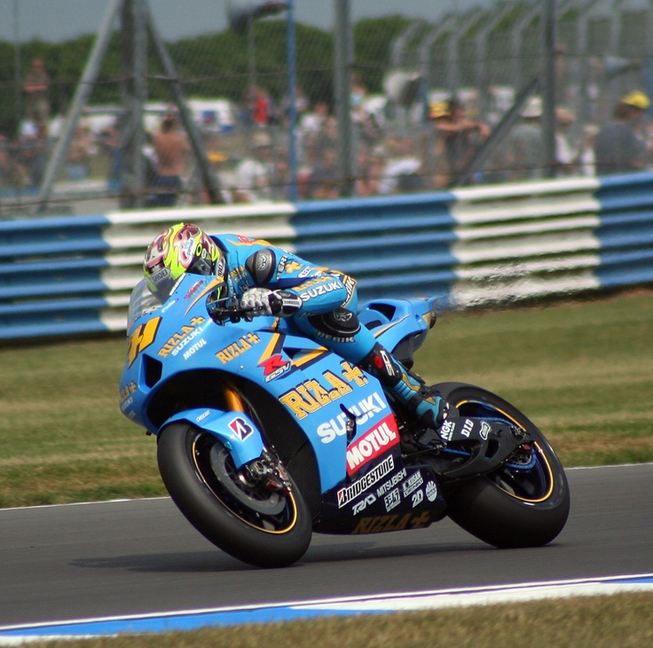Chris Vermeulen @ Donington 2006