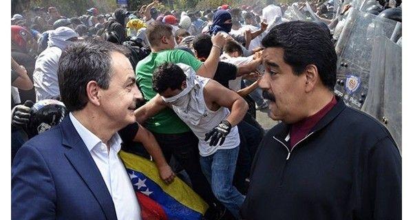 ¡MADURO FUERA! CONDICIÓN SINE QUA NON  Zapatero trabado sin lograr acuerdos con la oposición