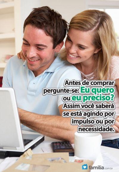 Familia.com.br   Dicas de como organizar as contas mensais.