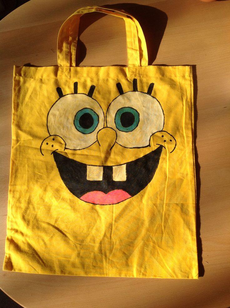 SvampeBob taske jeg selv har lavet