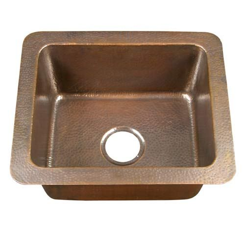 Small Single Bowl Drop-In Kitchen Sink