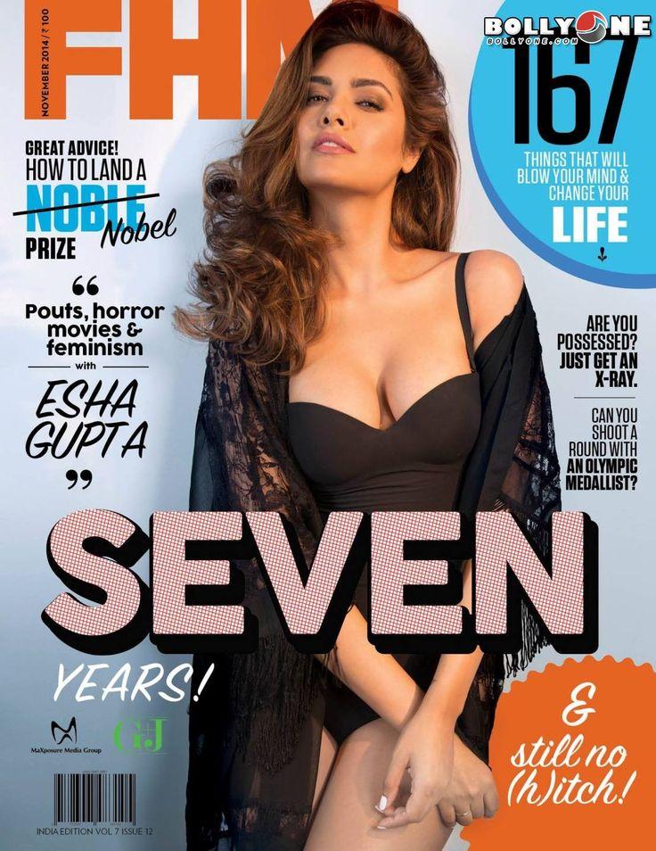 Esha Gupta hot FHM cover