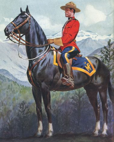 NWMP (Mountie) - Yukon Territory, Canada#Repin By:Pinterest++ for iPad#
