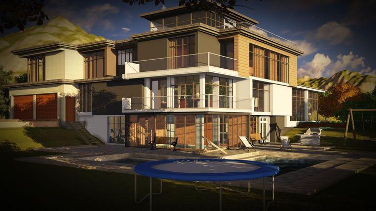 Modern House Design Lumion