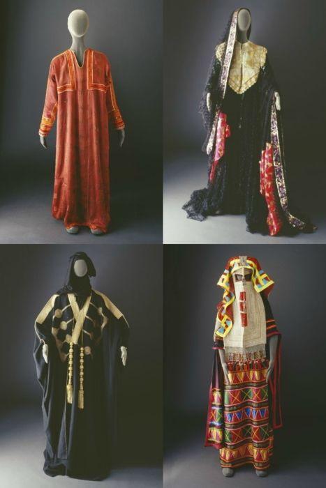 Saudi Arabian costumes.