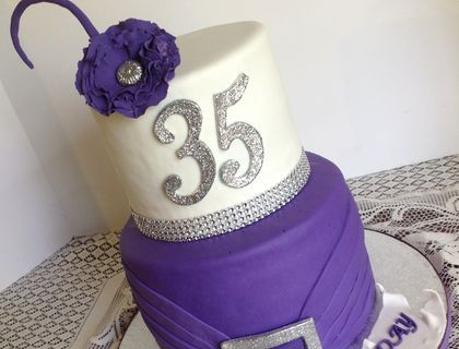 Best Ebonis Th Birthday Ideas Images On Pinterest Biscuits - 35th birthday cake ideas