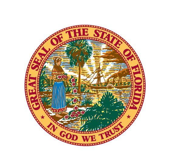 State Seal of Florida....Ghost Hotel of Longboat Key Video not currently viewable..Florida Memory. Marked for future reference..