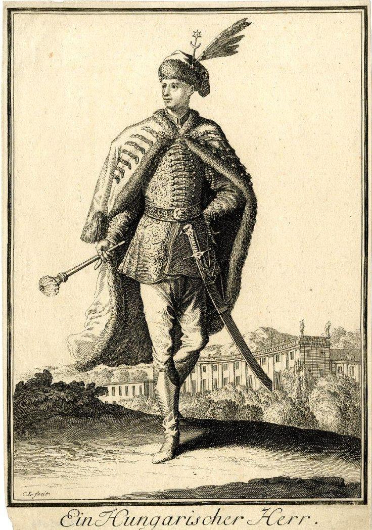 5 A Hungarian Gentleman, by Caspar Luyken.
