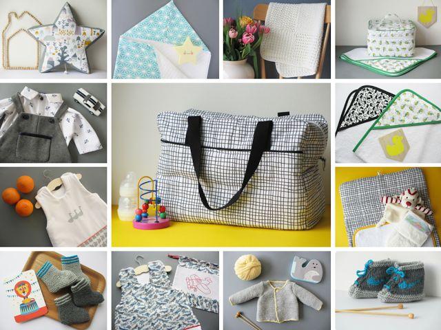 DIY - Future maman ou en quête d'idées de cadeaux de naissance ? Inspiration…