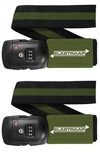 New Trending Luggage: Luggage Strap ELASTRAAP Superior Strength NON-SLIP with TSA Combination Lock (2 Straps, 02-Military Green). Luggage Strap ELASTRAAP Superior Strength NON-SLIP with TSA Combination Lock (2 Straps, 02-Military Green)   Special Offer: $31.87      244 Reviews NEW!! From ProudGuy, the makers of the original ELASTRAAP, comes a new TSA Secured Luggage Strap for All-in-One Peace of Mind Travel Security....