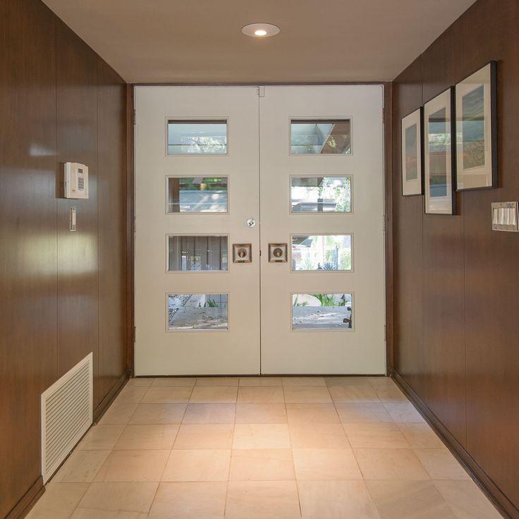 a modern front door