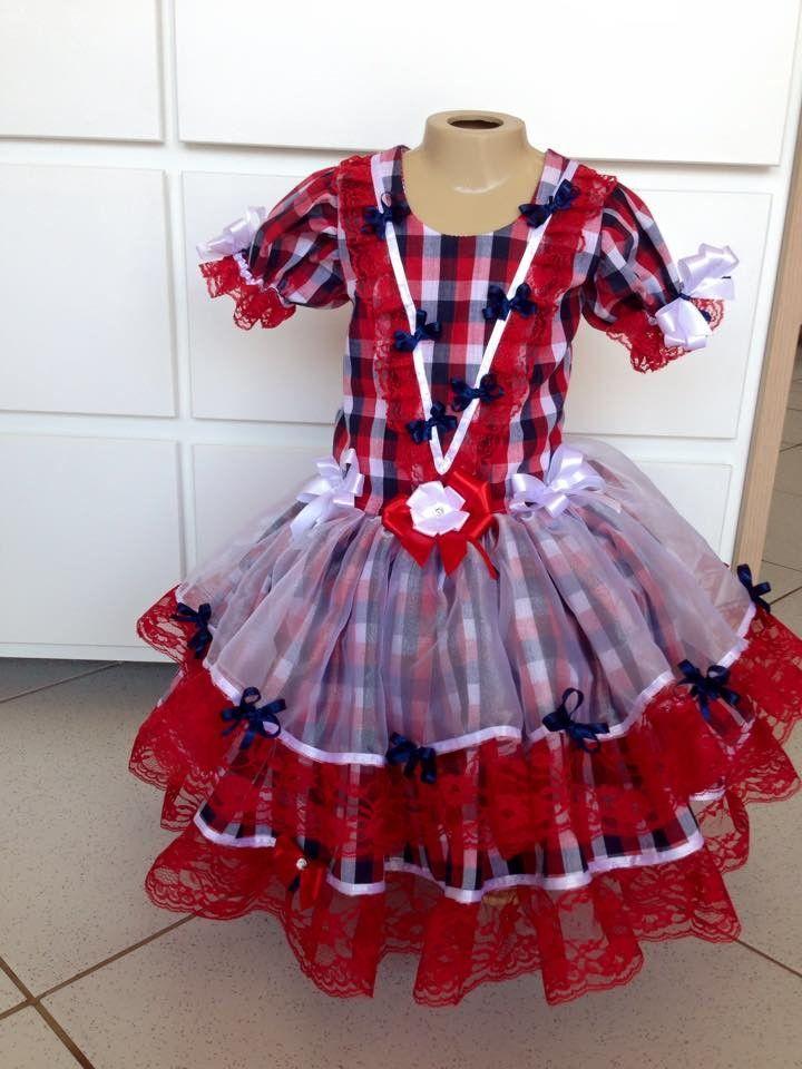 caipira-infantil-xadrez-vermelho-2015-vestido-junino-baby