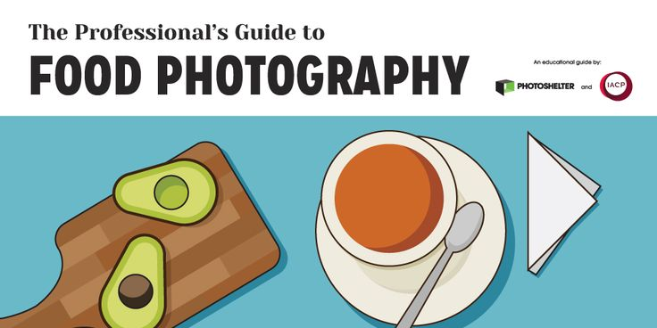 Free ebook (guide) - Professional's Guide to Food Photography