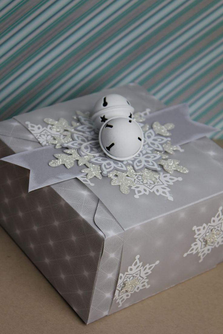 Geschenkbox Festive Flurry, Bild 1,  gebastelt mit Produkten von Stampin' Up!