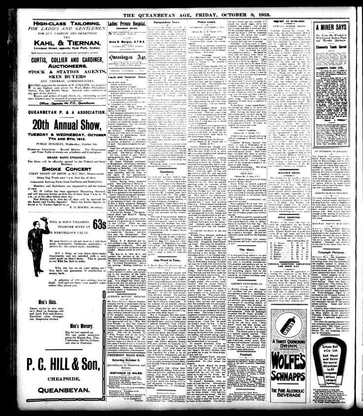 Queanbeyan Age (NSW) - Australian Newspapers - MyHeritage