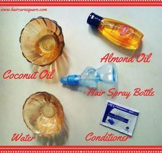 diy heat protectant hair spray