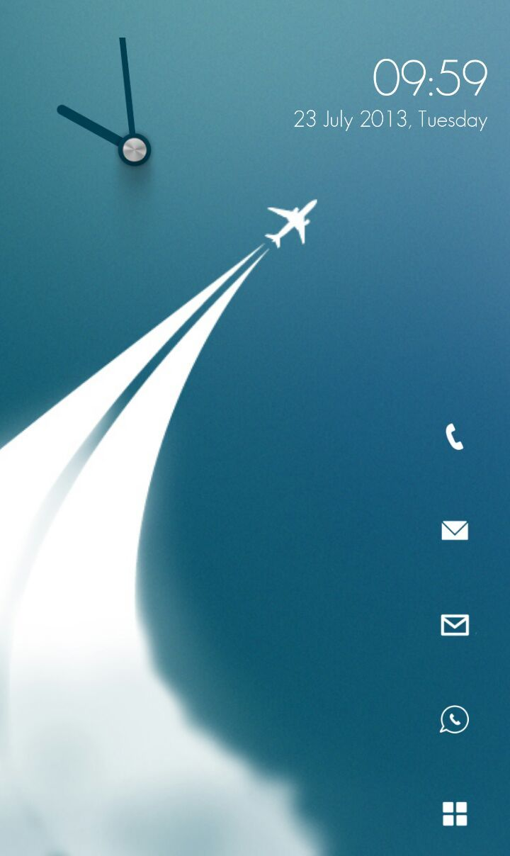 [Homepack Buzz] Check this awesome homescreen! Rohan Jit Singh | My Homepack Simple minimal home screen.
