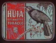 Vintage Huia Cigarette Tobacco tin