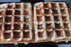 Wafels recept, volkoren, suikervrij, lactosevrij, zonder melk, gezond, ontbijt