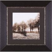 Found it at Wayfair - Fence Row And Trees Framed Artwork
