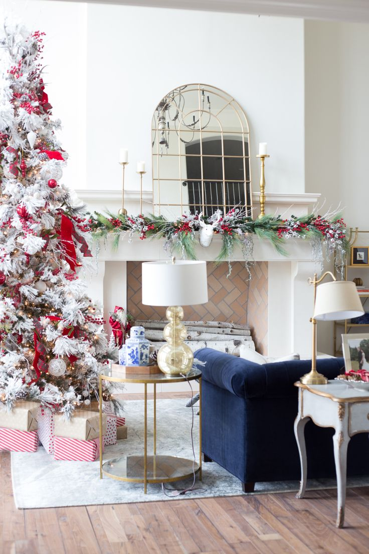 Non traditional christmas tree ideas - Home For The Holidays With Rachel Parcell