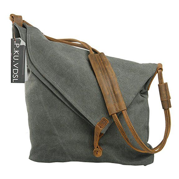 b8cad13e939c Canvas Hobo Bag
