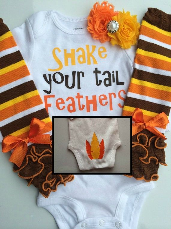 BABY girl Thanksgiving outfit Baby Girl Fall by AboutASprout