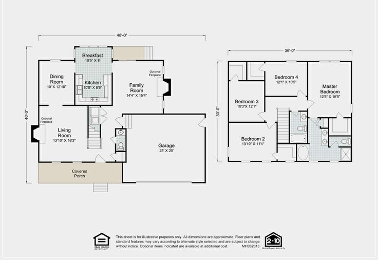 17 best images about two story home floor plans on