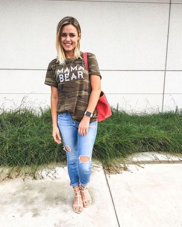 mama bear camo shirt