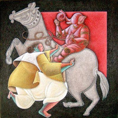 satish gujral indian artist