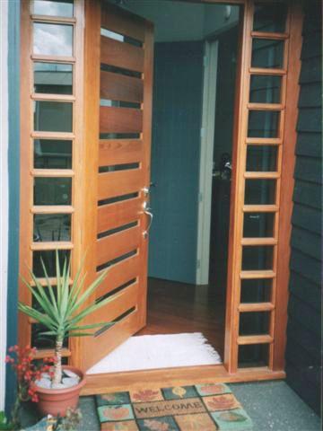 Wooden doors Hamilton WKitchens Waikato Auckland