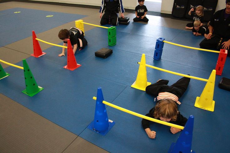 CRAWLING - this skill helps students work on developing their core muscles, spatial awareness, hand-and-foot coordination, and more!