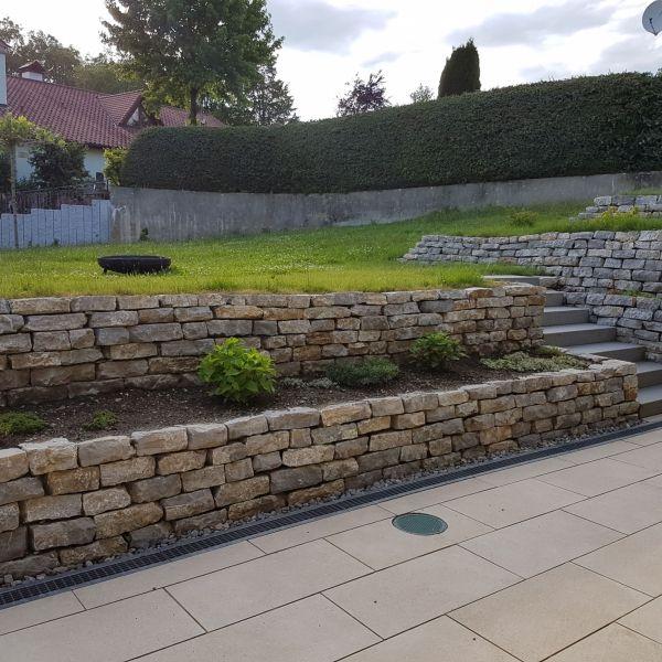 Lisco Trockenmauerstein Naturstein Versand Steinmauer Garten Gartengestaltung Garten