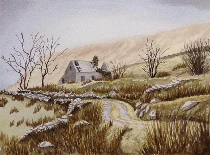 Derelict Peak District cottage