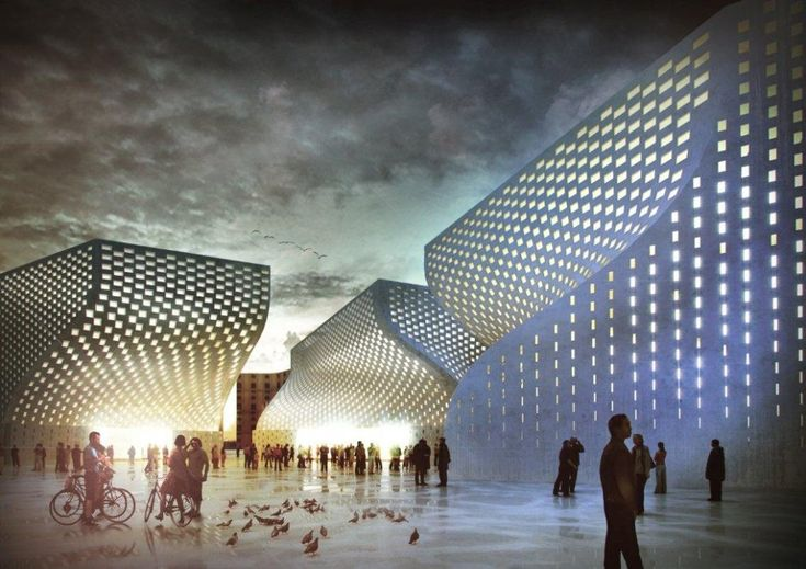 BIG Architects - ISLAMIC CULTURAL CENTER and MUSEUM OF TOLERANCE