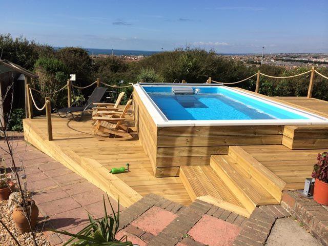 Endless Swimming Pool Designs. Elegant Endless Pool By ...