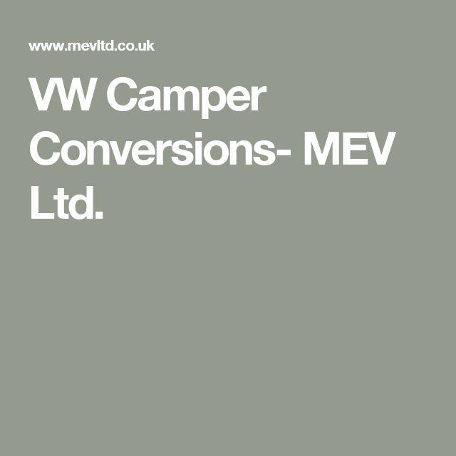 VW Camper Conversions- MEV Ltd.
